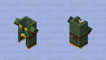 piglin/villager(remade/nitwit/outfit) Minecraft Mob Skin