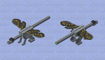 Grayling wings of fire Minecraft Mob Skin