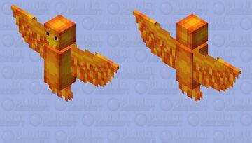 Phoenix - Mob Skintober 2020 - Day 15 Minecraft Mob Skin