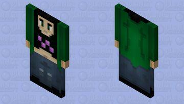 Sinus gorl but a cape Minecraft Mob Skin
