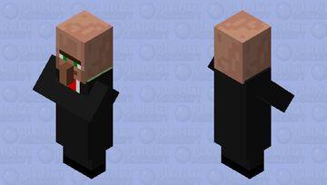 Bussiness Villager Minecraft Mob Skin