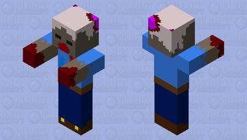 Zomboi Minecraft Mob Skin