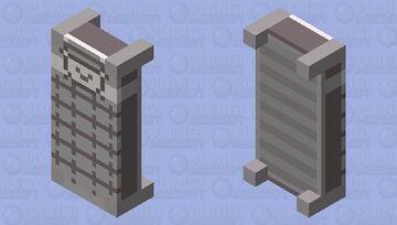 New Undertale Bed Minecraft Mob Skin