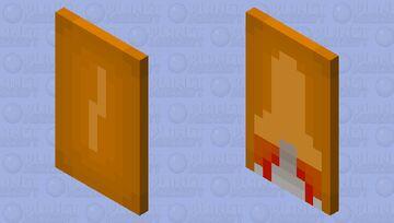 Golden Lightning and Launching Rocket Minecraft Mob Skin