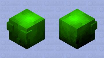 slime infested with mythical forest spirit  (HD edition and not for contest) Minecraft Mob Skin
