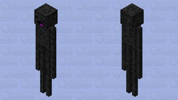 Derp enderman (very unoriginal :D) Minecraft Mob Skin