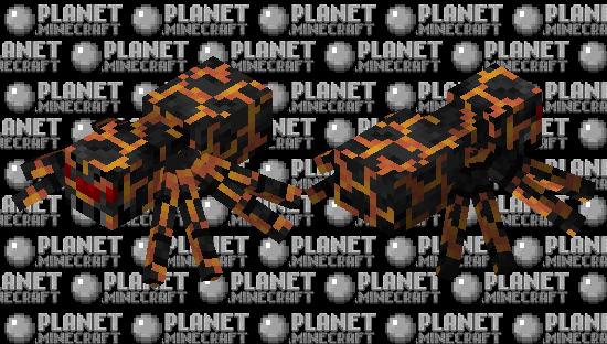 Magma Spider Minecraft Skin