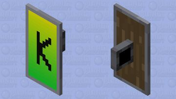 KINGO SHIELD Minecraft Mob Skin