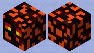 Molten Magma Cube Minecraft Mob Skin