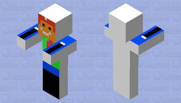 Rocket Mario Minecraft Mob Skin