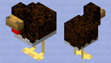 Chicken Variant 1 Minecraft Mob Skin