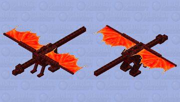 Dark Nether Ender Dragon (Mob Skin Contest) Minecraft Mob Skin