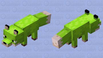 Swamp Fox Minecraft Mob Skin