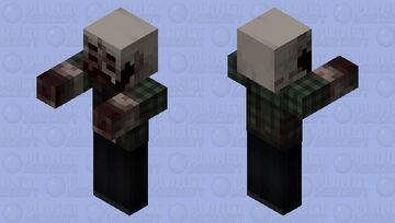 Infected Dude (4) Minecraft Mob Skin
