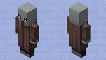 Illager Necromancer Minecraft Mob Skin