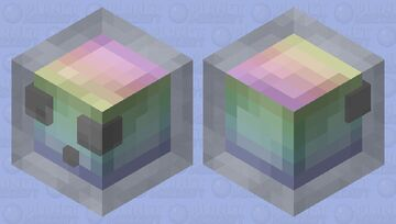 Rainbow Slime v2 Minecraft Mob Skin