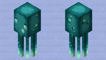 glow squid (minecraft earth) Minecraft Mob Skin