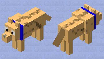 golden retriever Minecraft Mob Skin
