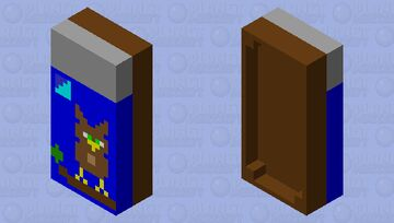 Really awesome owl bed! Minecraft Mob Skin