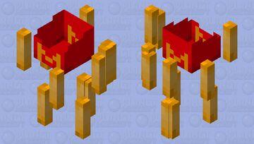 French Fry Box Minecraft Mob Skin