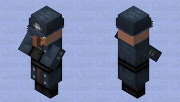 British Constable Villager Minecraft Mob Skin