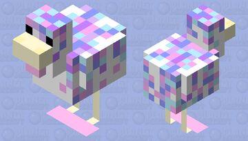 Cupcake Chicken Minecraft Mob Skin