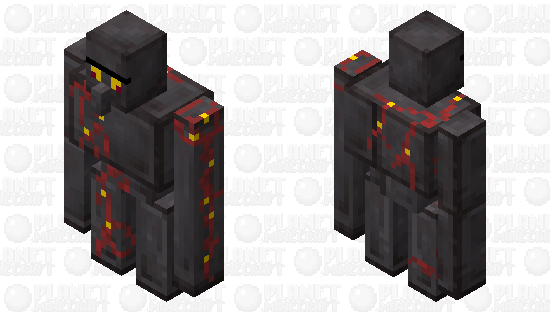 Netherite Golem (ZGNetherContest) Minecraft Skin