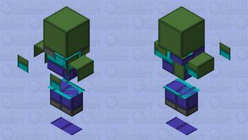 Simplistic Zombie Minecraft Mob Skin