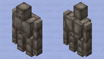 Cobblestone Golem: Winterhaven Beasts and Baddies Minecraft Mob Skin