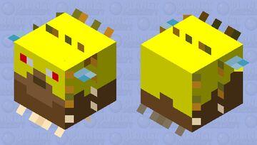 Angry Pufferfish (last of the pufferfish series 3/3!!!!) Minecraft Mob Skin