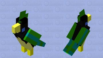 Exotic Bird Minecraft Mob Skin