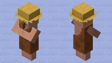 Farmer Caveman. (Village Cultures.) Minecraft Mob Skin