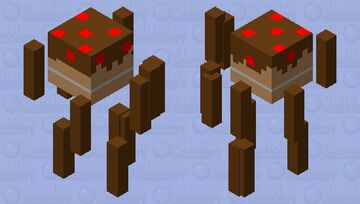 omega cake of doom Minecraft Mob Skin