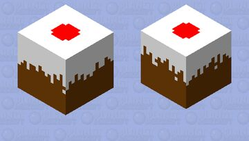 Chocolate Pudding Minecraft Mob Skin