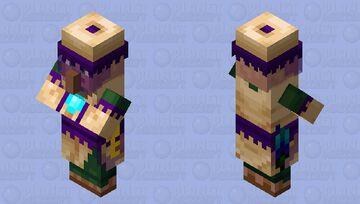 Gypsy (Villager profession) Minecraft Mob Skin