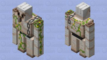Pillager Iron Golem Minecraft Mob Skin