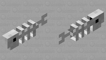 Skeleton cod Minecraft Mob Skin
