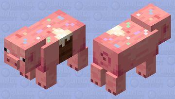 A Slice to Celebrate | Pre-Party Cake Minecraft Mob Skin
