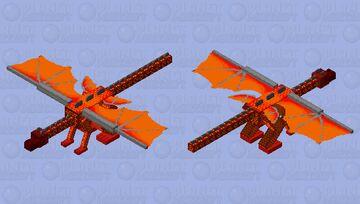 Nether Dragon :3 Minecraft Mob Skin