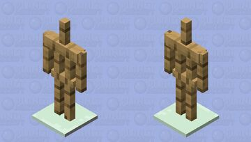 Advanced armor stands (they just have metal stands..sorry i was lazy) Minecraft Mob Skin