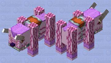 Behemoth the King of All Animals Minecraft Mob Skin