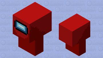 Among us' chicken Minecraft Mob Skin