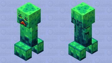 Happypixel Creeper Minecraft Mob Skin