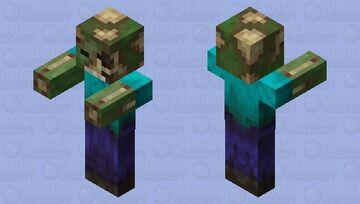 Dread Zombie Minecraft Mob Skin
