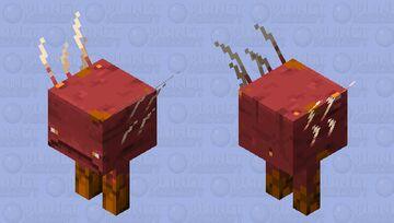 Lava Strider Minecraft Mob Skin