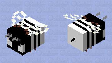 white and black boi Minecraft Mob Skin