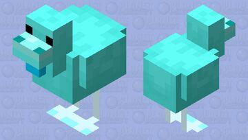 Ice Chicken (Winter Animals) Minecraft Mob Skin