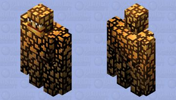 The ''thing'' from the fantastic 4 Minecraft Mob Skin