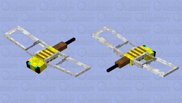 Phantom Bee Minecraft Mob Skin