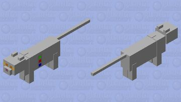 robocat mk1 Minecraft Mob Skin